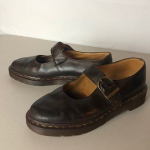 Dr. Martens leather shoes original Made in England